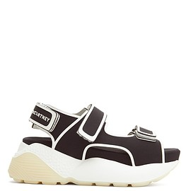 STELLA McCARTNEY - Velcro-strap neoprene flatform sandals