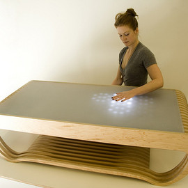 BECAUSE WE CAN - The Ripple - Interactive LED Coffee Table