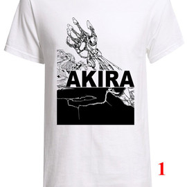 New Anime film Akira shirt  Great looking Custom Fruit of the loom T-Shirt