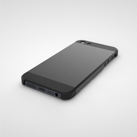 Quirky - iPhone5 case Black