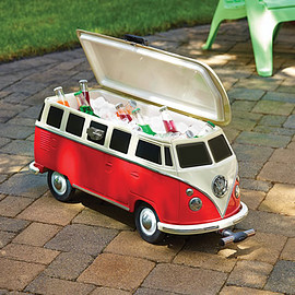 Hammacher Schlemmer - The Volkswagen Panel Van Cooler.
