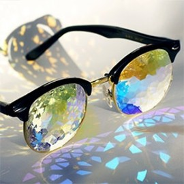 H0LES ~ kaleidoscopic glasses from Pam Tietze