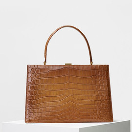 CELINE - Medium Clasp in Crocodile