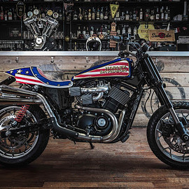"FMWmotorcycles - ""Evel is back"" Harley Davidson"
