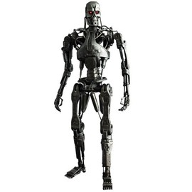Hot Toys - Movie Masterpiece - 1/6 Scale Fully Poseable Figure: Terminator 4 - T-700 Endoskeleton