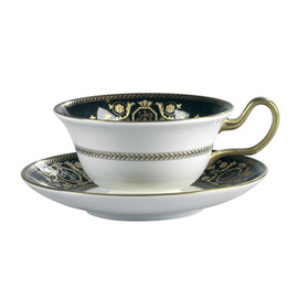 WEDGWOOD - Astbury Black Teacup