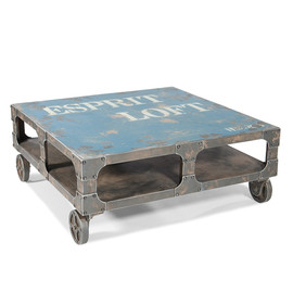 Loft Coffee Table Blue
