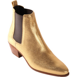 Saint Laurent - Gold Rock Chelsea Boot