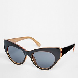 ASOS - Chunky Exaggerated Cat Eye Sunglasses