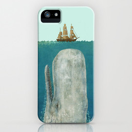 Society6 - The Whale  iPhone Case