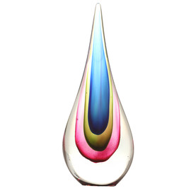 Flavio Poli - Sommerso Glass Teardrop for Seguso