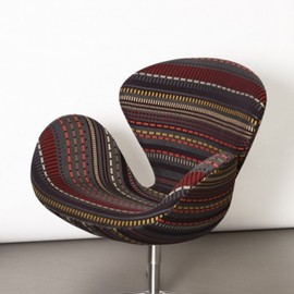 Fritz Hansen - Point Fabric by Paul Smith - Swan Chair