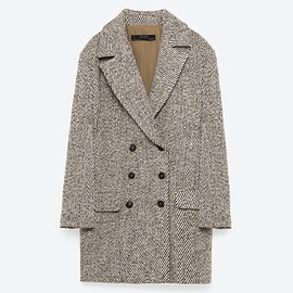 ZARA - DOUBLE BREASTED COAT