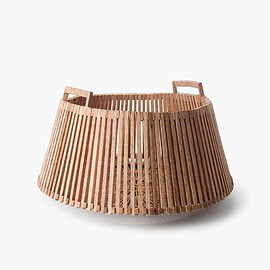 Piet Hein Eek - FAIR TRADE PALMWOOD BASKET LOW