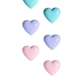 River Island - Pack Of Three Heart Stud Earrings