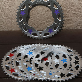 candy cranks - star chainring