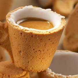 A coffee cup you can eat