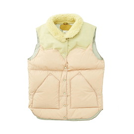 RockyMountainFeatherBed - LADY'S CHRISTY VEST/NYLON (16AW)