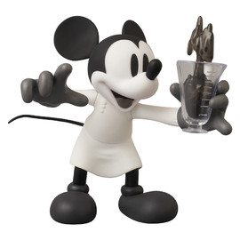 MEDICOM TOY - VCD MICKEY MOUSE(The Worm Turnsより)B/W Ver.