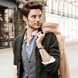 I like this fashion-style; knitted Layers