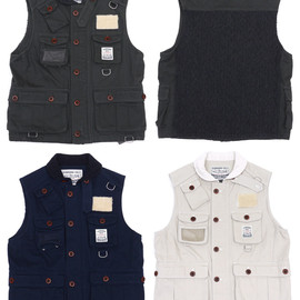 NEIGHBORHOOD - NEIGHBORHOODNHCA.FISHERMAN/CW-VEST[ベスト]207-000111-040-【新品】【smtb-TD】【yokohama】