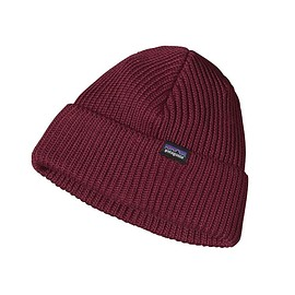 patagonia - Patagonia Fisherman\'s Rolled Beanie - Oxblood Red OXRD