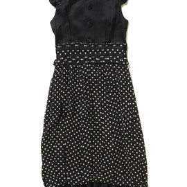 G.V.G.V - Dot Chiffon Balloon Dress