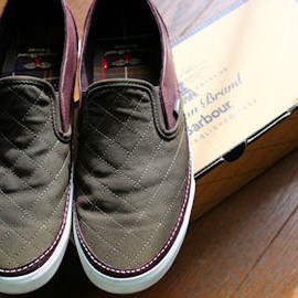 Vans x Barbour - Vans x Barbour 2012AW Capsule collection
