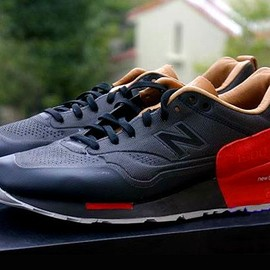 New Balance - 1500 (Seamless) - Black/Red/Beige
