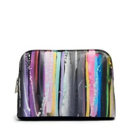 ASOS - Clutch Bag In Blurred Lines Print