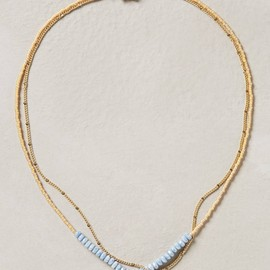 Anthropologie - Double Vale Necklace