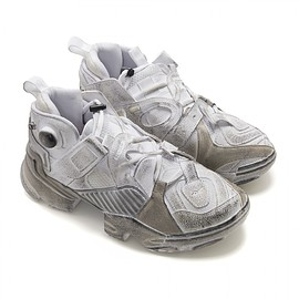 VETEMENTS - Reebok Genetically Modified Pump ( White )