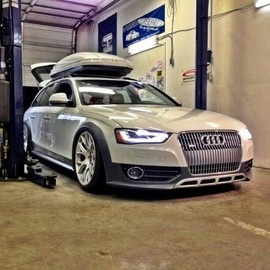 "Audi - BraveryWins #allroad ""Stand out from the croyed."