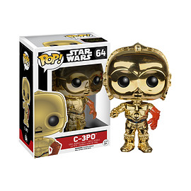 FUNKO - POP! Star Wars The Force Awakens -  C-3PO (Gold plated Version)