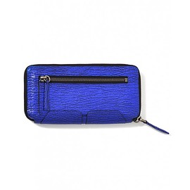3.1 Phillip Lim - Electric Blue Pashli Zip Wallet