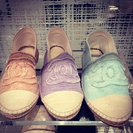 CHANEL - Espadrilles Summer 2013