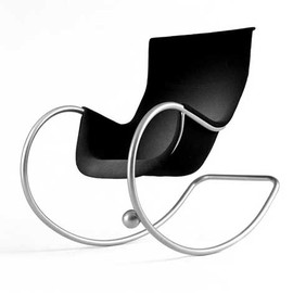 aarnio keinu iso Modern Rocking Chair by Eero Aarnio