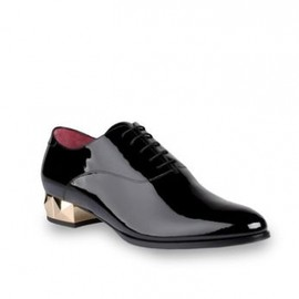 VALENTINO - Oxford in patent leather