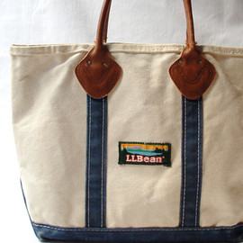 Boat & Tote Bag, Open Top (Navy)