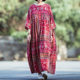 Loose Fitting dress - Women's Cotton dress, Loose Fitting dresses for Women, maxi maternity dress