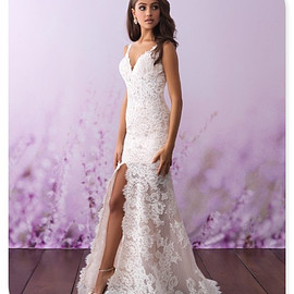 Allure Bridals western bridal gown style 3118