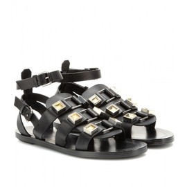 PROENZA SCHOULER - STUDDED LEATHER SANDALS