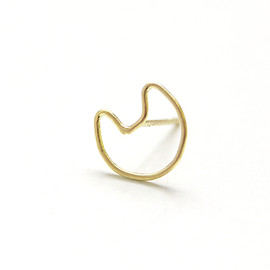 rutile - cat face pirce(1pierce 18k)