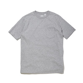 ANATOMICA - POCKET TEE / GRAY