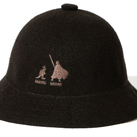 KANGOL, BEAMS, STAR WARS - STAR WARS COLLECTION FOR BEAMS: VADER BERMUDA HAT