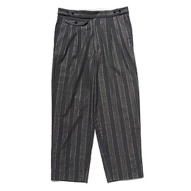PEEL&LIFT - stripe pegtop trousers