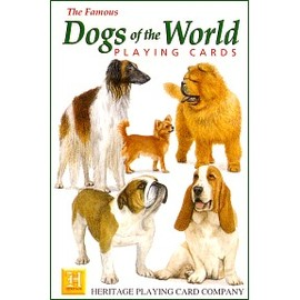 Dog of the World  PLAYING CARDS