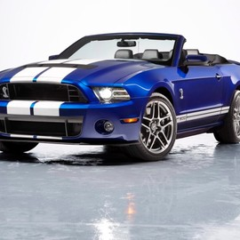 Ford - Shelby GT500 Convertible, 2013