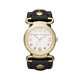MARC BY MARC JACOBS - Marc By Marc Jacobs Ladies Black and White Ladies Watch MBM1096