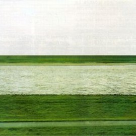 Andreas Gursky - Rhein, 1996 (most expensive photo ever sold, 4,3 million$)